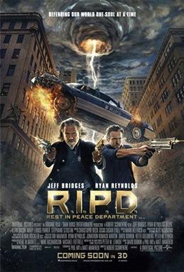 R.I.P.D. (2013) –  Jeff Bridges, Ryan Reynolds, Kevin Bacon's English Action, Comedy & Crime Movie