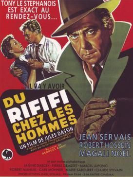 Rififi (1955) movie poster