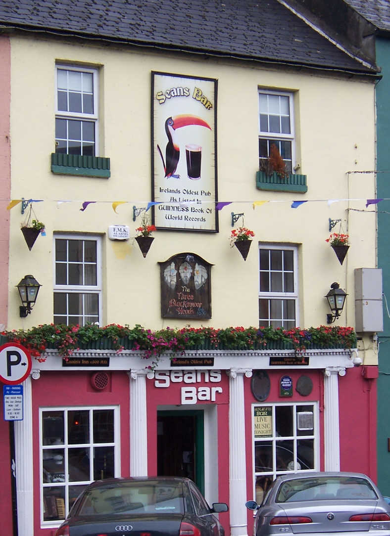 Image result for Sean's Bar - Ireland