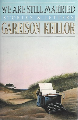 Cover illustration: A painting of an old-fashioned typewriter in the shelter of a grassy sand dune with a house and sea in the distance.