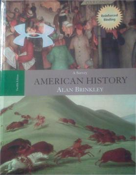 Alan brinkley american history a survey 12th edition
