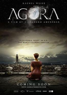 Agora (2009) English movie poster