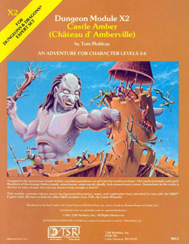 Cover of X2 Castle Amber (Chateau D'Amberville)