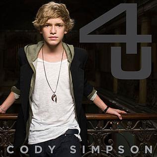 <i>4 U</i> (EP) 2010 EP by Cody Simpson
