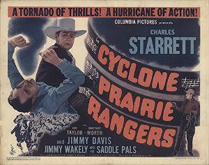 <i>Cyclone Prairie Rangers</i> film