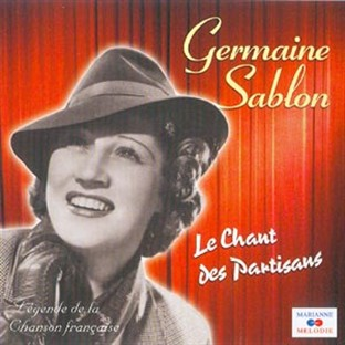 Germaine Sablon French actress