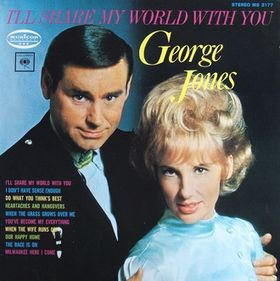 <i>Ill Share My World with You</i> 1969 studio album by George Jones