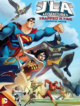 Justice League Adventures: Trapped in time [DVD 5][LATINO]