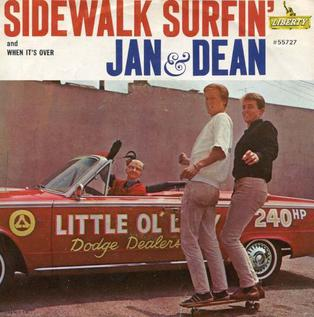 Sidewalk Surfin 1964 song performed by Jan and Dean