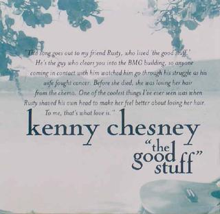 The Good Stuff 2002 single by Kenny Chesney
