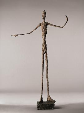 When was alberto giacometti's man pointing finished?