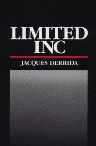 <i>Limited Inc</i> book by Jacques Derrida