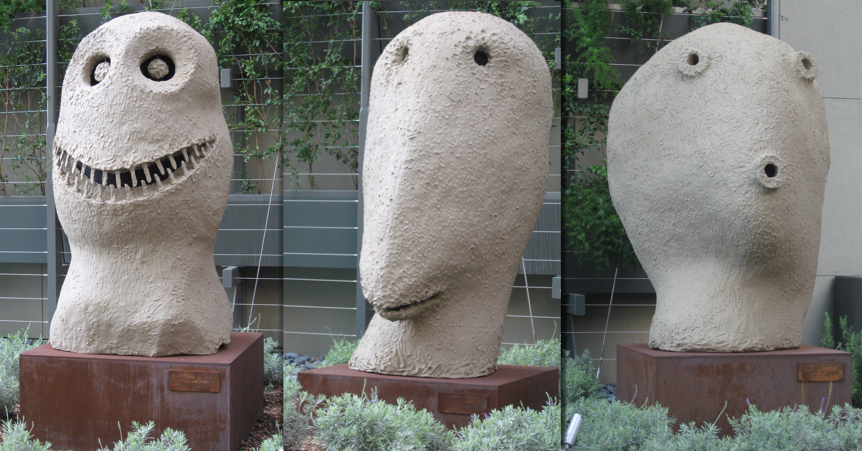 Moonrise Sculptures by Ugo Rondinone