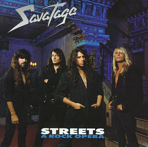 <i>Streets: A Rock Opera</i> 1991 studio album by Savatage