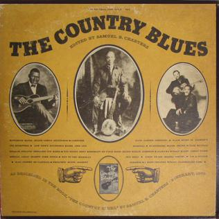 <i>The Country Blues</i> 1959 compilation album by various artists