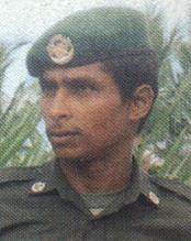 Pasan Gunasekera Sri Lankan soldier