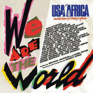 We Are the World 1985 charity single by USA for Africa