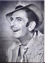 Arthur English as his 'Spiv' character