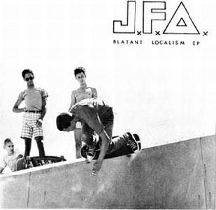 <i>Blatant Localism</i> 1981 EP by JFA