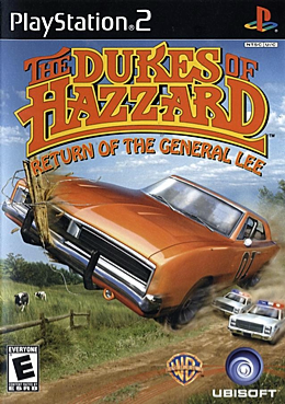 U.S. box art for The Dukes of Hazzard: Return of the General Lee