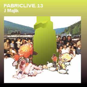 <i>FabricLive.13</i> 2003 compilation album by J Majik