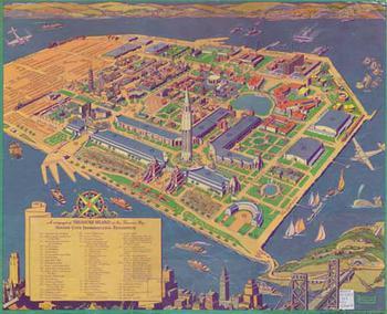 Golden Gate Exposition Treasure Island