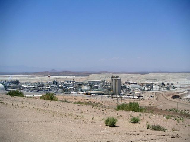 Industrial plant near Jodhpur, Rajasthan.