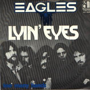 Cover image of song Lyin Eyes by Eagles