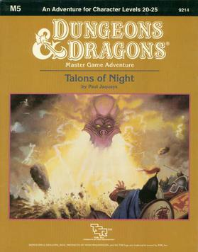Cover of M5 Talons of Night