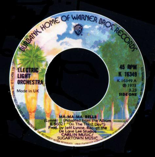 Ma-Ma-Ma Belle 1974 single by Electric Light Orchestra