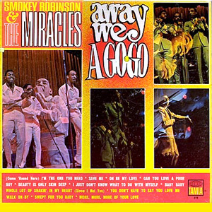 <i>Away We a Go-Go</i> 1966 studio album by Smokey Robinson & the Miracles