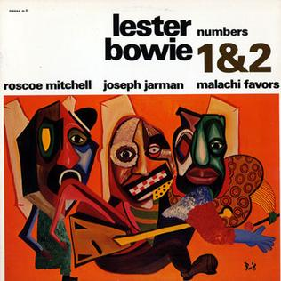 <i>Numbers 1 & 2</i> 1967 studio album by Lester Bowie
