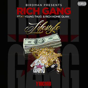 Rich Gang featuring Young Thug and Rich Homie Quan - Lifestyle (studio acapella)