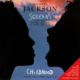 Scream/Childhood 1995 single by Michael Jackson and Janet Jackson