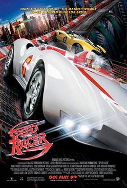 Speed Racer (2008) movie poster