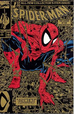 "Spider-Man #1, later renamed ""Peter Parke..."