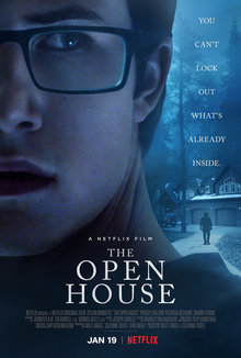 Dylan Minnette starred in The Open House on Netflix while 13 Reasons Why was on a break. Source: Wikipedia