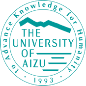 The seal of Aizu University