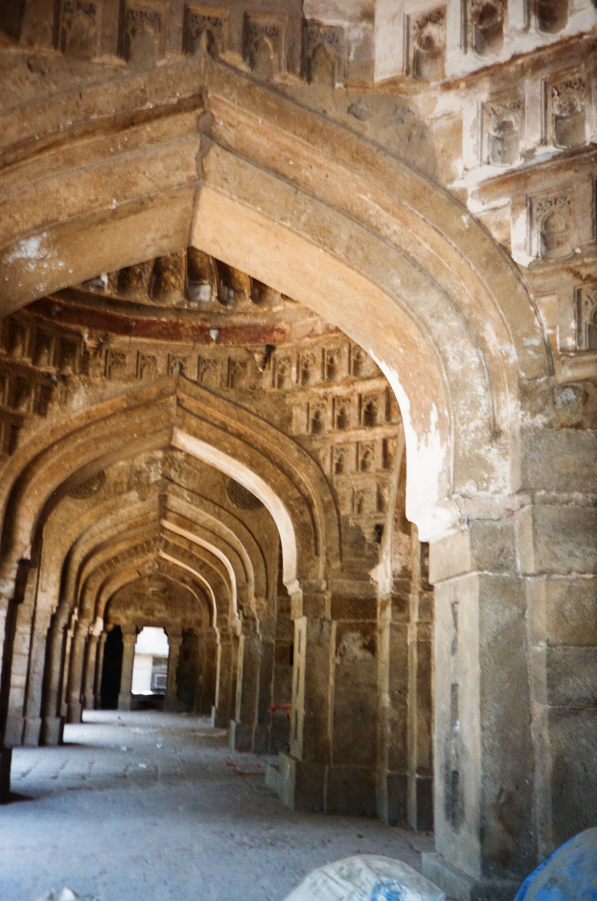 File View Of Five Towerredd Passage Inside The Mosque Jpg