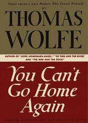 "Cover to the first edition of ""You Can't Go Home Again"" by Thomas Wolfe"