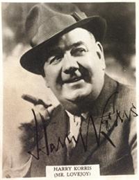 Harry Korris British actor