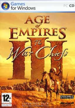 Age of Empires III The WarChiefs - foto tirada do google.