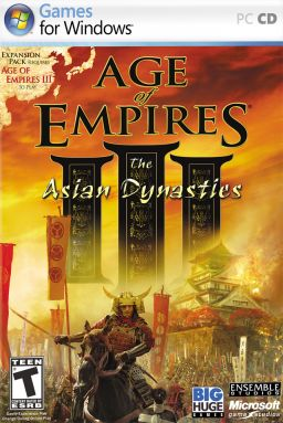 Box art for Age of Empires III: The Asian Dynasties