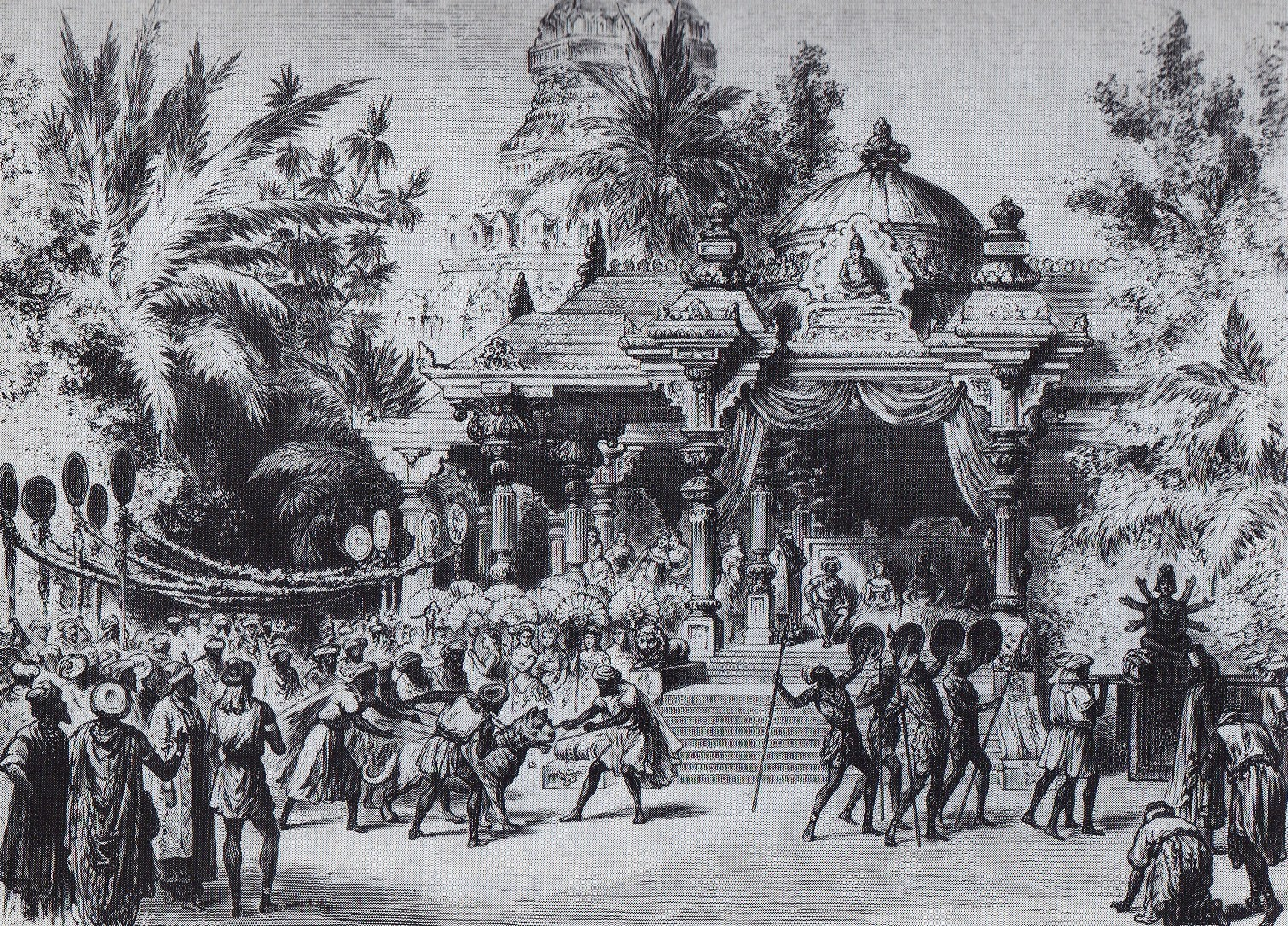 File:Bayadere -Decor Design -Act II -K. Brozh -1877.