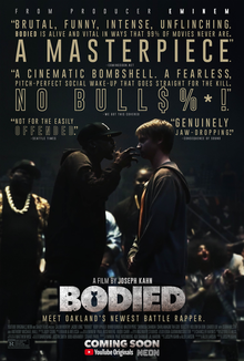 Bodied Poster at Wikipedia