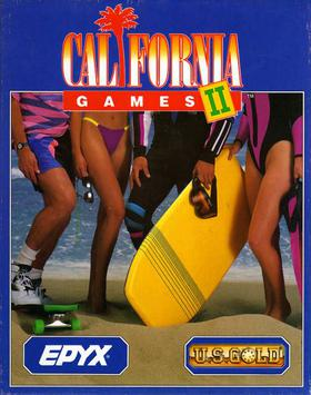 SNES - California Games 2 Box Art