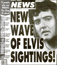 Sightings Of Elvis Presley Wikipedia