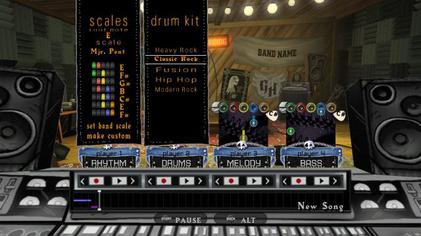 Guitar Hero World Tour allows for players to create their own songs note-by-note or in real-time. Ghwt custom song.jpg