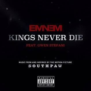 Eminem featuring Gwen Stefani — Kings Never Die (studio acapella)