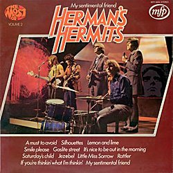 <i>The Most of Hermans Hermits Volume 2</i> 1972 greatest hits album by Hermans Hermits